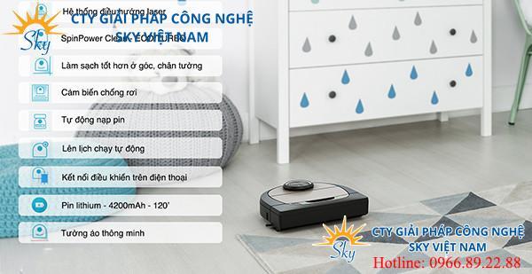 Robot hút lau thông minh Neato Botvac D7 Connected
