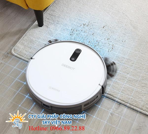 Robot hút bụi Ecovacs Deebot 710Robot hút bụi Ecovacs Deebot 710