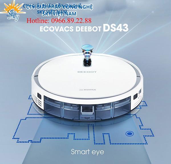 ROBOT HÚT BỤI LAU NHÀ ECOVACS DEEBOT DS43