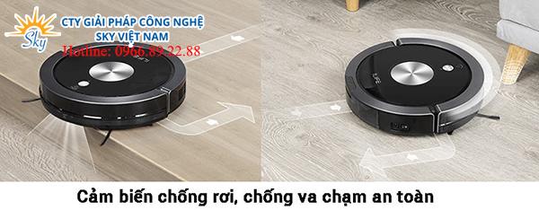 Robot hút bụi lau nhà thông minh ILIFE X800
