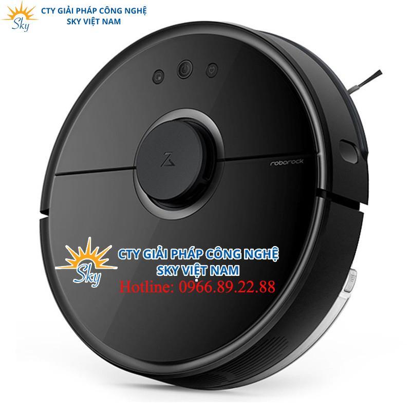 Robot hút lau Xiaomi Roborock GEN2 (S55) Black – Phiên bản đặc biệt