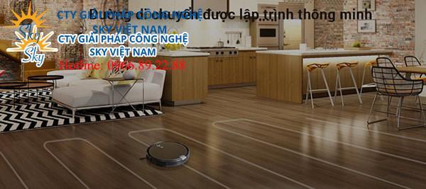 ROBOT HÚT BỤI LAU NHÀ THÔNG MINH ILIFE X660