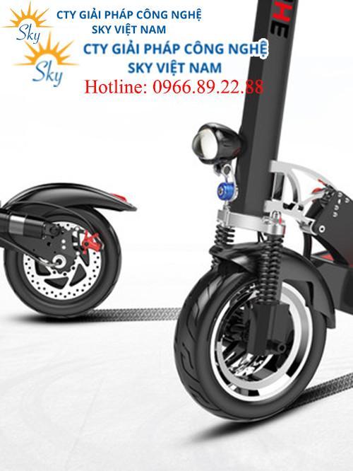 Xe điện tay ga E-Scooter có thể gập