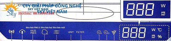 Máy Tạo PCI - Lọc Khí SHARP FP-J80EV-H