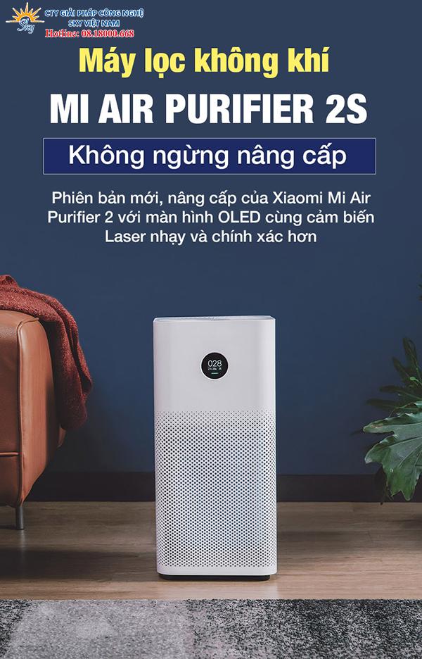 máy lọc không khí Xiaomi Mi Air Purifier 2S