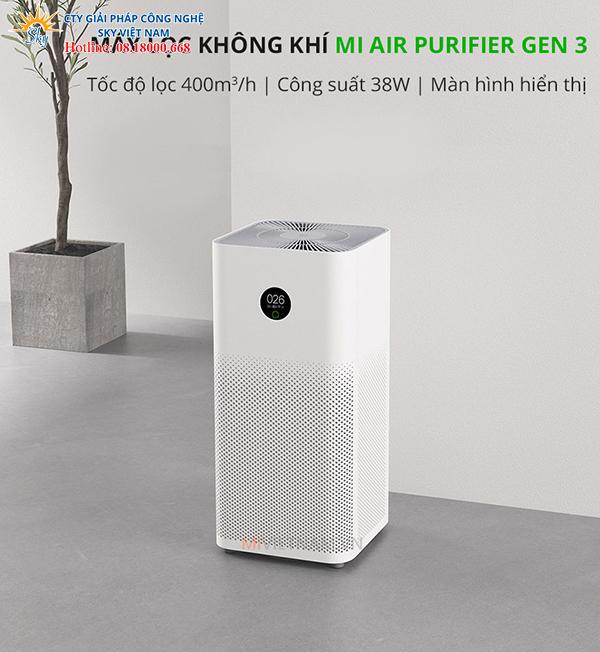 Máy Lọc Không Khí Mi Air Purifier Gen 3