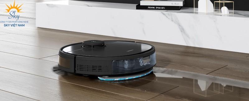Ecovacs Deebot T5 Hero làm sạch trên mọi loại sàn và thảm