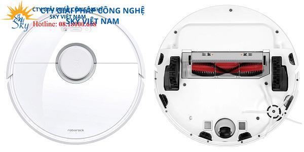 Robot hút bụi lau nhà Xiaomi Roborock Gen 3 Bản White (T60)