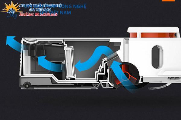 Robot hút bụi lau nhà XIAOMI ROBOROCK GEN 2 S52 (Phiên bản LIMITED INTER MILAN – Trắng xanh)