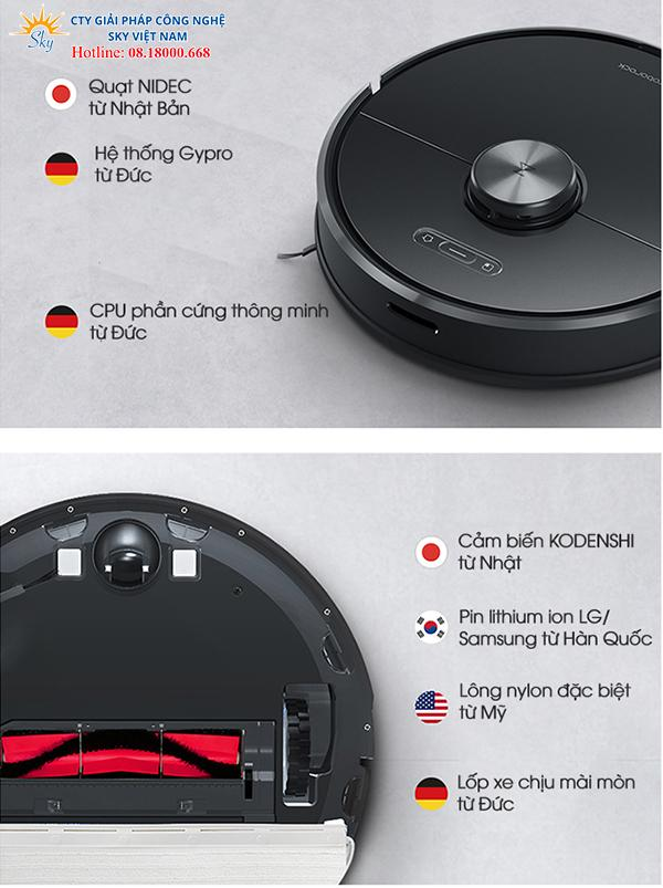 Robot hút bụi Xiaomi Roborock Gen 3 (T65)