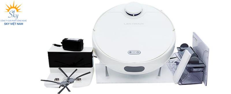 Robot Liectroux ZK901 định vị không gian bằng tia Laser