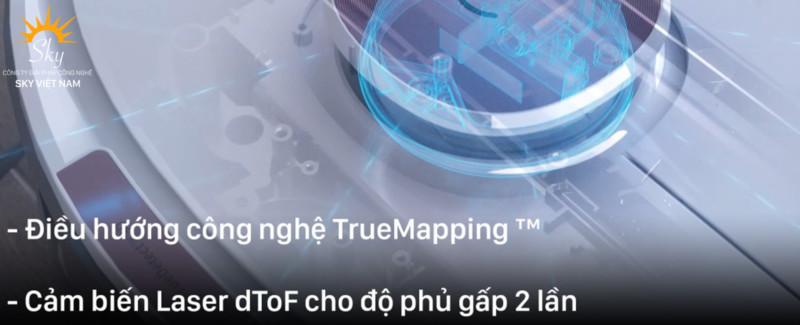 Công nghệ điều hướng trên ecovacs deebot t8 max