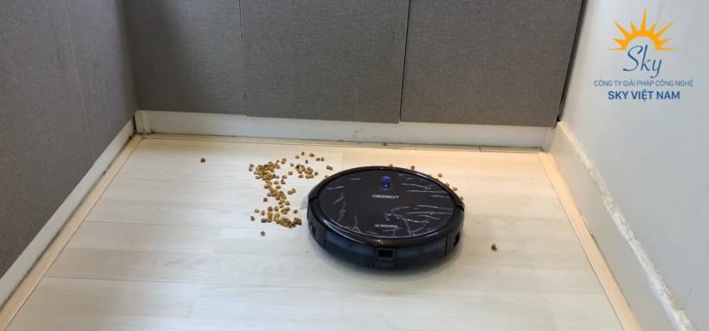 Chế độ làm sạch robot hút bụi lau nhà
