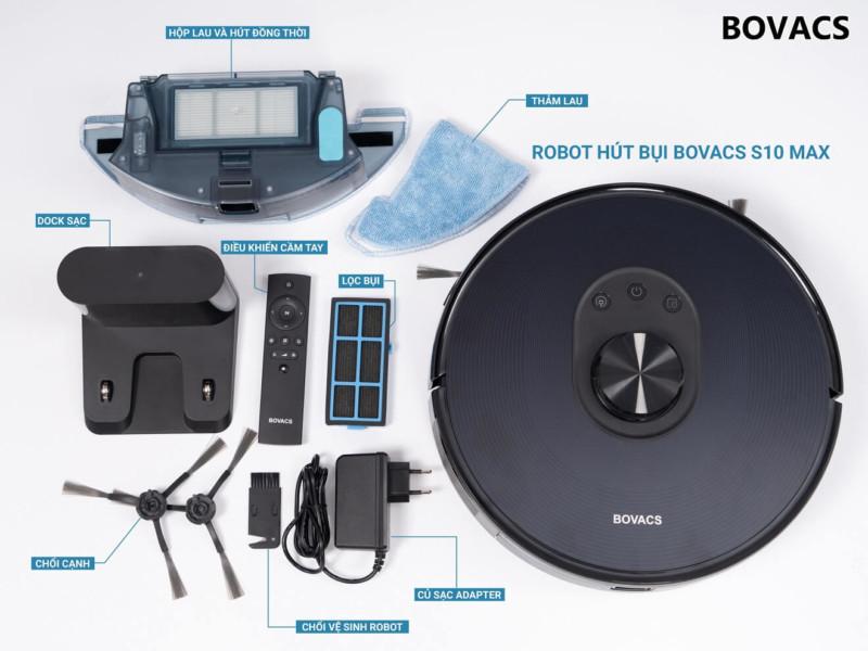 phụ kiện của BOVACS S10 MAX