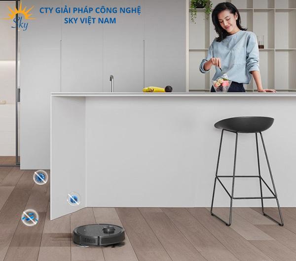 Robot hút bụi T9 AIVI mang lại hiệu quả sạch sâu