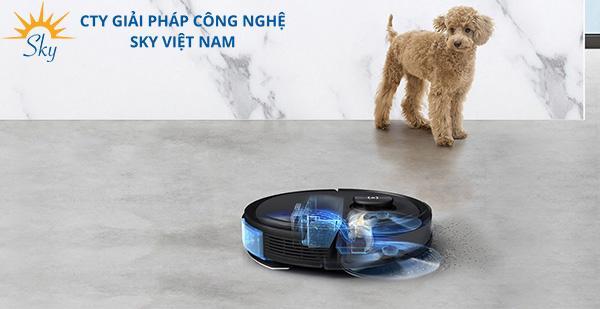 Robot hút bụi Deebot T8 AIVI nhận diện tốt các vật cản