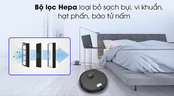 Bộ lọc Hepa giúp không gian ngôi nhà luôn sạch sẽ