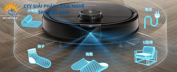 Robot hút bụi Ecovacs Deebot T8 AIVI sở hữu công nghệ hiện đại
