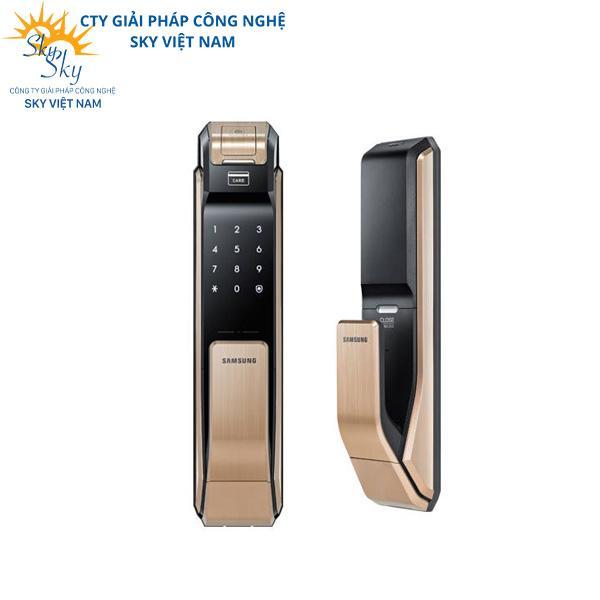 Khóa cửa phòng thông minh bằng vân tay Samsung SHS-P718