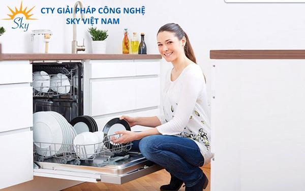 Máy rửa chén bát âm tủ tính năng hiện đại, đột phá