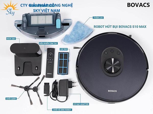 Tìm hiểu chi tiết về thương hiệu robot hút bụi Bovacs