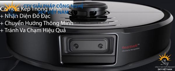 Sản phẩm Robot hút bụi và lau nhà Xiaomi Roborock S6 MaxV