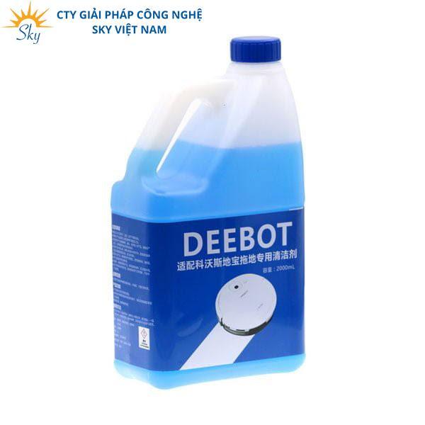 Nước lau sàn cho robot hút bụi thương hiệu Deebot